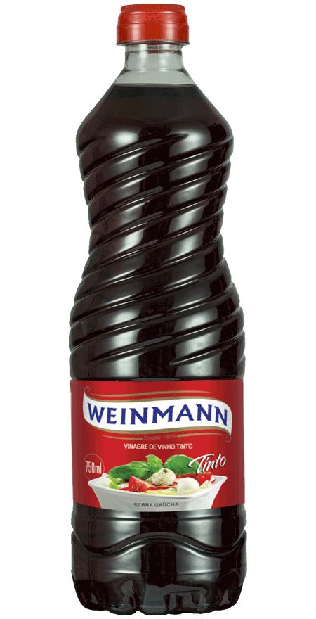 Vinagre Vinho Tinto Weinmann 750ml