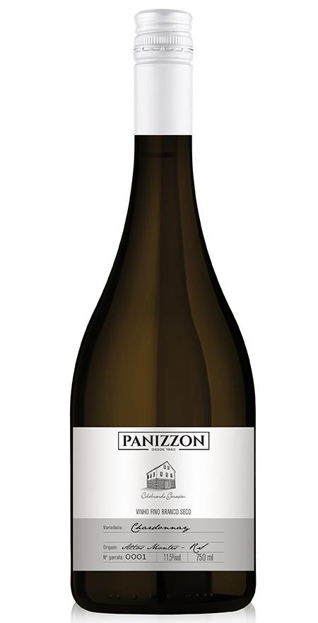 Vinho Branco Fino Chardonnay Panizzon 750ml