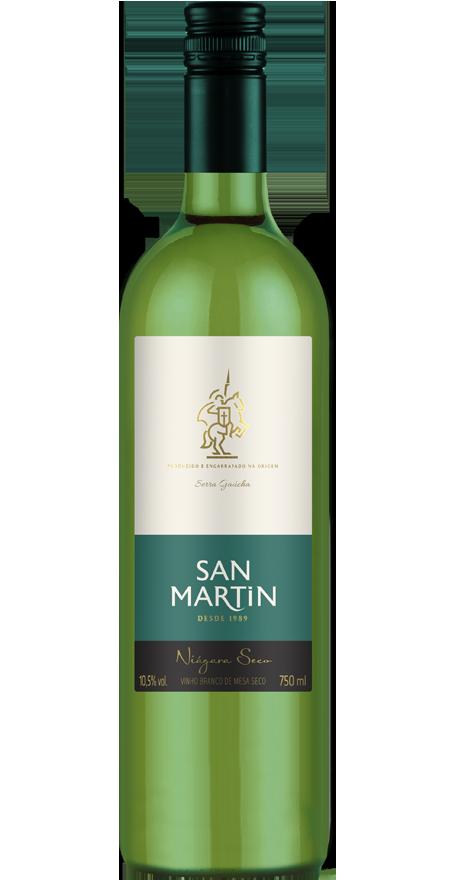 Vinho Branco Seco Niágara San Martin 750ml