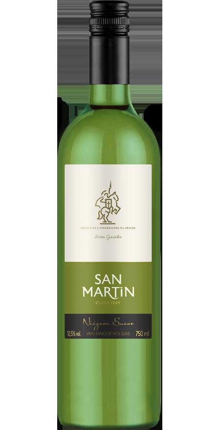 Vinho Branco Suave Niágara San Martin 750ml