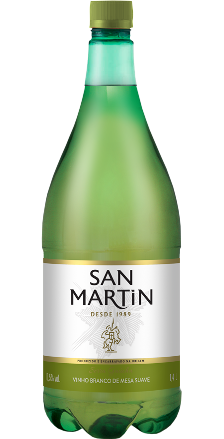Vinho Branco Suave San Martin 1,4L