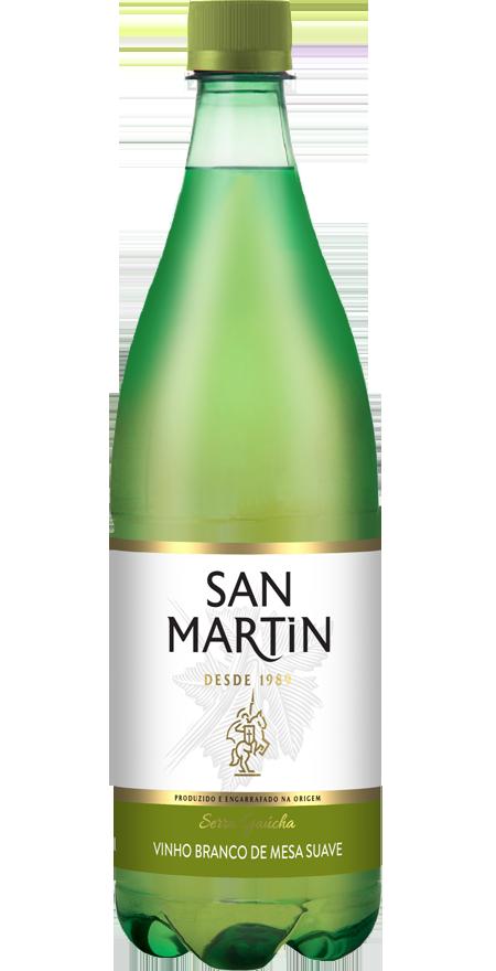 Vinho Branco Suave San Martin 880ml