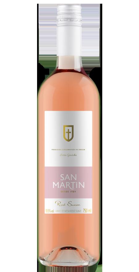 Vinho Rosé Suave San Martin 750ml