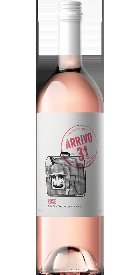 Vinho Seco Rosé Arrivo 31 750ml