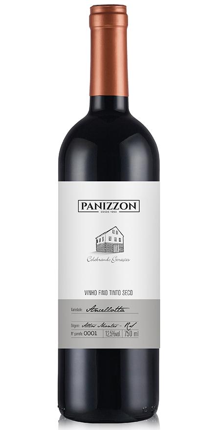 Vinho Tinto Fino Ancellotta Panizzon 750ml