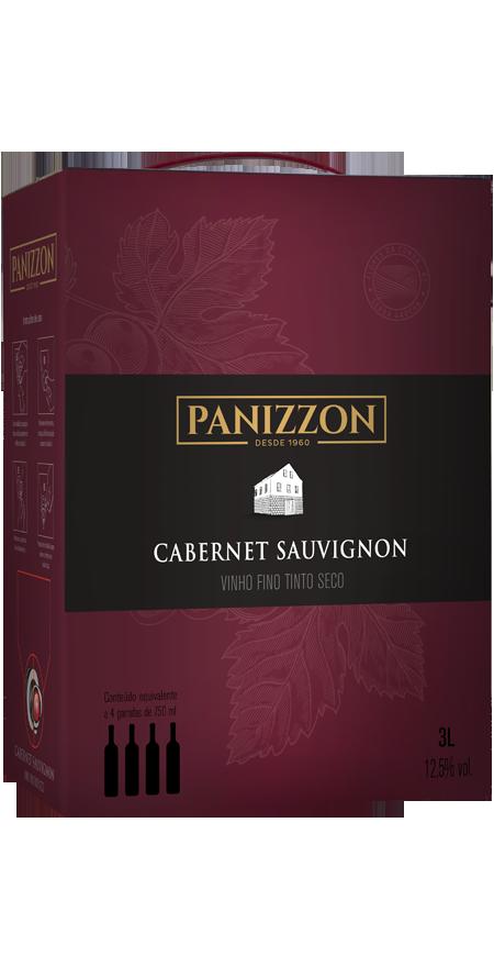Vinho Tinto Fino Cabernet Sauvignon Bag in Box Panizzon 3L
