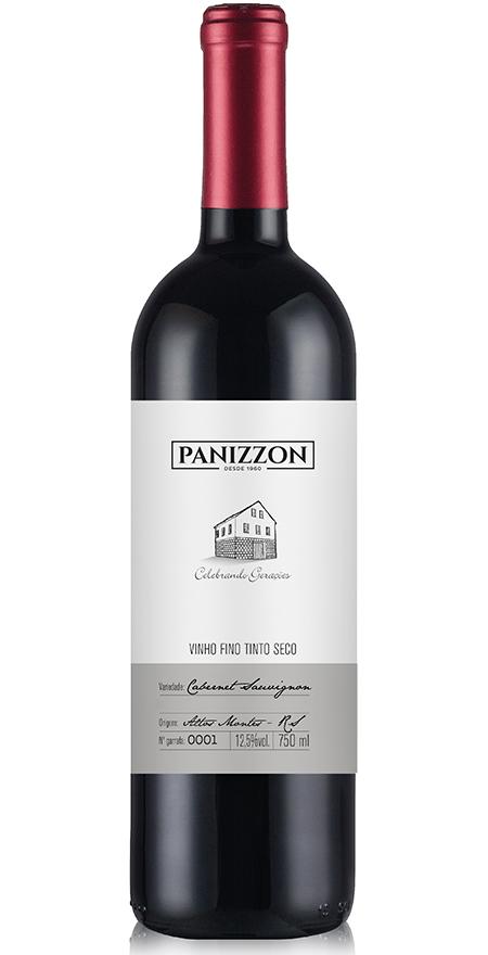 Vinho Tinto Fino Cabernet Sauvignon Panizzon 750ml