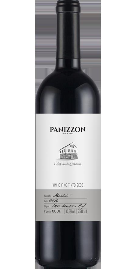 Vinho Tinto Fino Merlot Panizzon 750ml