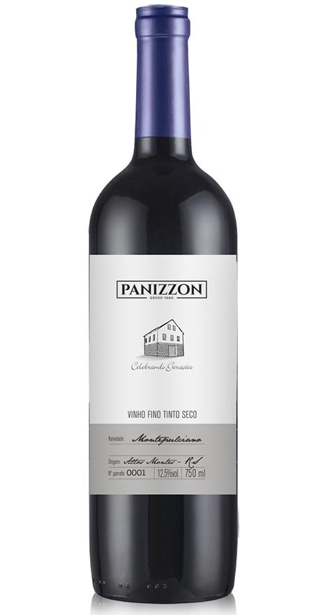Vinho Tinto Fino Montepulciano Panizzon 750ml