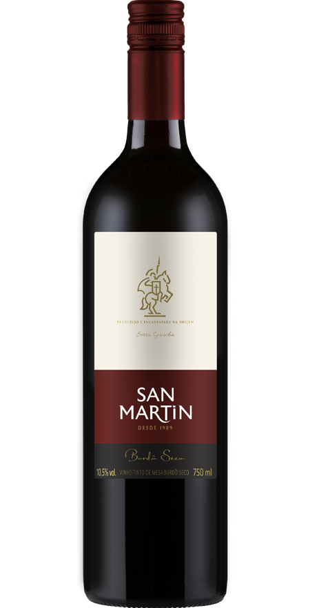 Vinho Tinto Seco Bordô San Martin 750ml