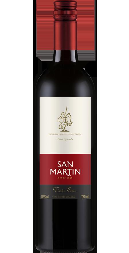 Vinho Tinto Seco de Mesa San Martin 750ml