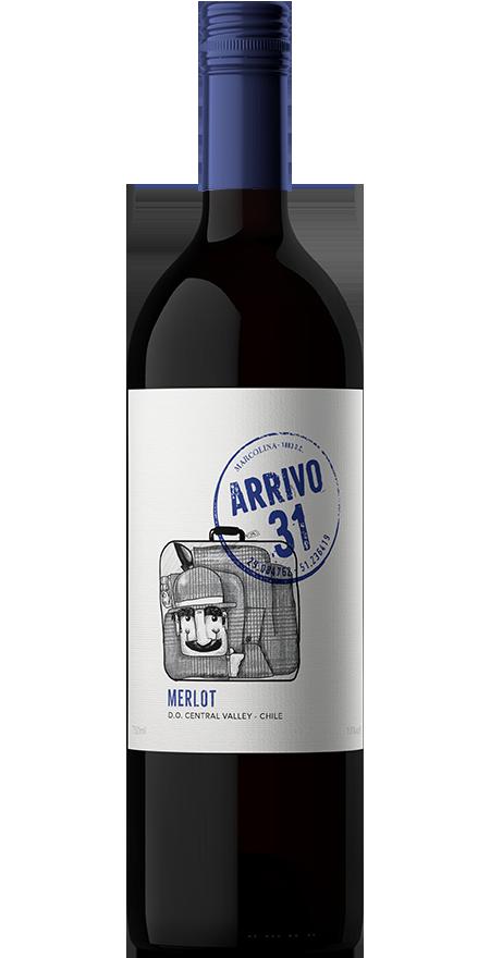Vinho Tinto Seco Merlot Arrivo 31 750ml
