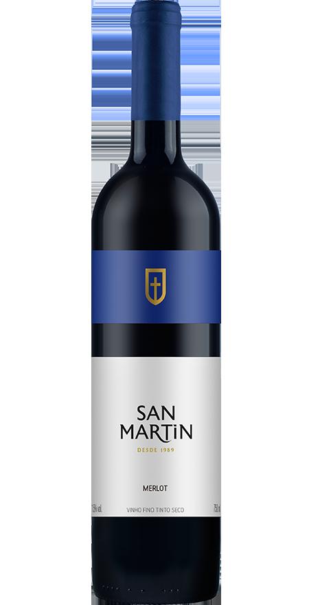 Vinho Tinto Seco Merlot San Martin 750ml
