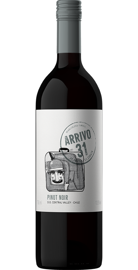 Vinho Tinto Seco Pinot Noir Arrivo 31 750ml