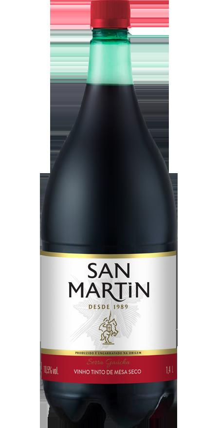 Vinho Tinto Seco San Martin 1,4L