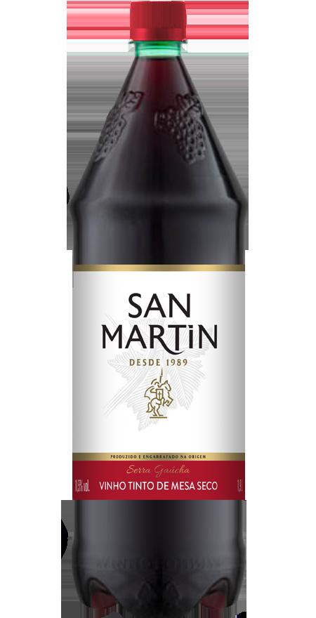 Vinho Tinto Seco San Martin 1,9L