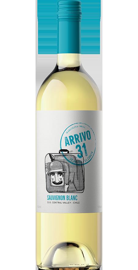 Vinho Branco Seco Sauvignon Blanc Arrivo 31 750ml