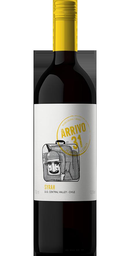 Vinho Tinto Seco Syrah Arrivo 31 750ml