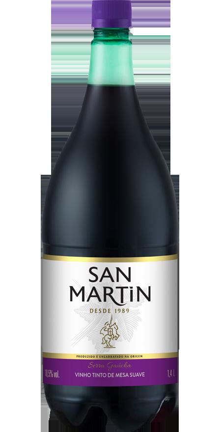 Vinho Tinto Suave San Martin 1,4L