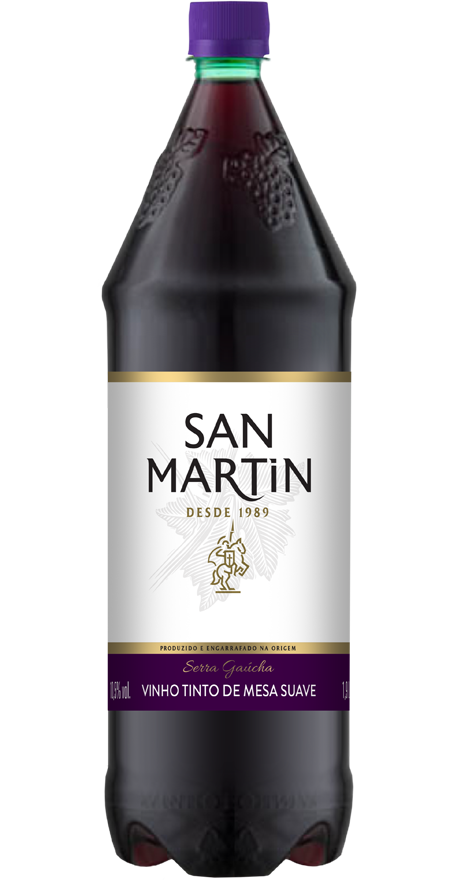 Vinho Tinto Suave San Martin 1,9L