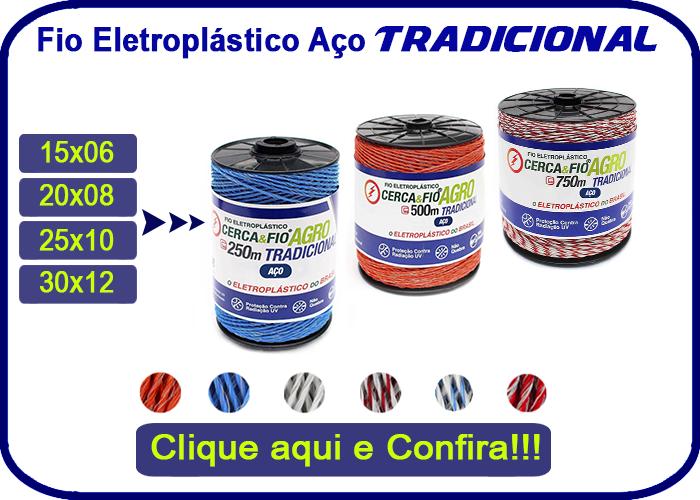 Fio Eletroplástico Aço Tradicional