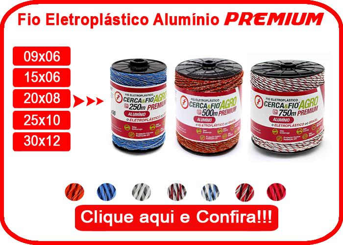 Fio Eletroplástico Alúminio Premium