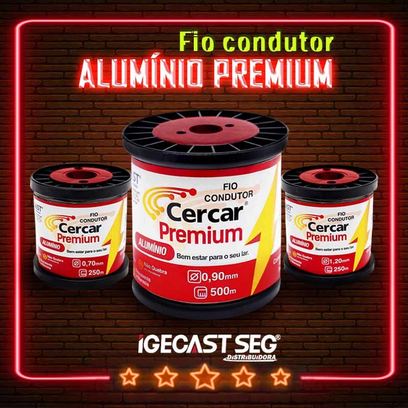 Fio para cerca elétrica Alumínio Premium
