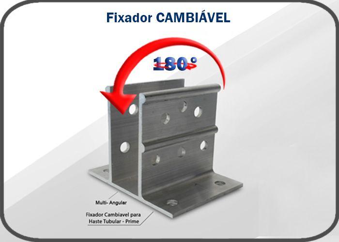 Fixador Cambiável - multi-medidas aluminio