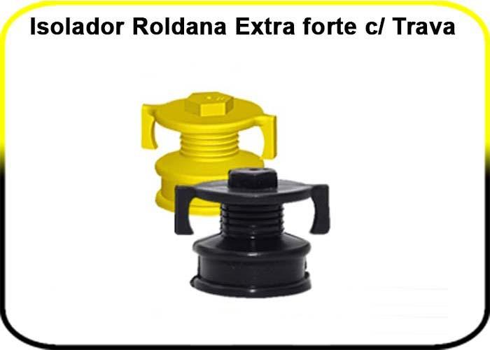 Isoladores IGECAST- Castanha, Roldana, W / PACOTE COM 100 UNIDADES