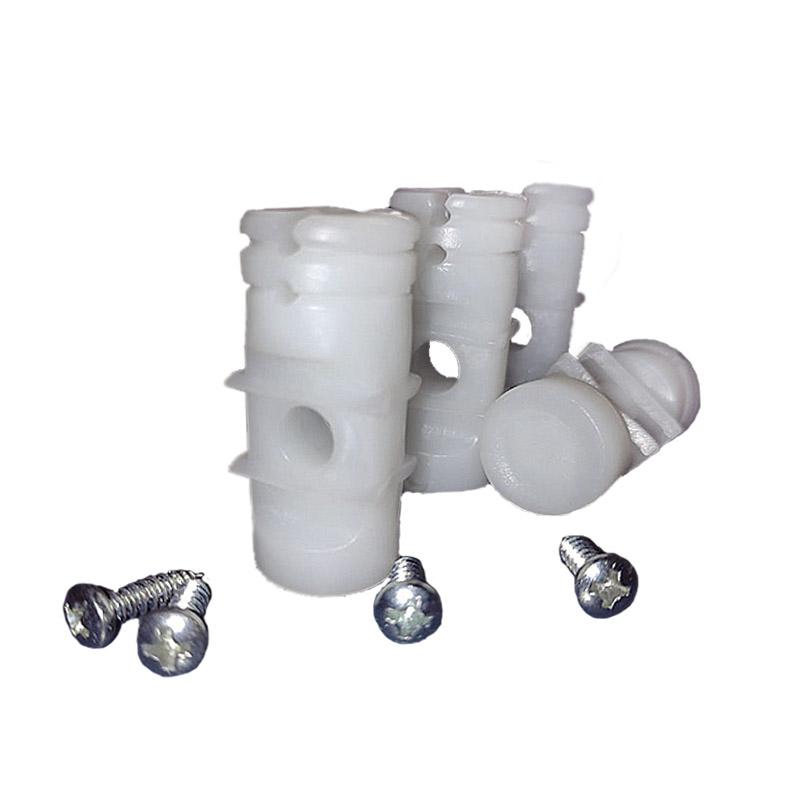 Kit Cerca Elétrica, 2 Rolos de Fios de Aço Inox Plus 0.70mm de 200m + 10 Molas de Repuxo (Aço Inox) + 02 Placas de Advertência + 100 Isoladores Bastão