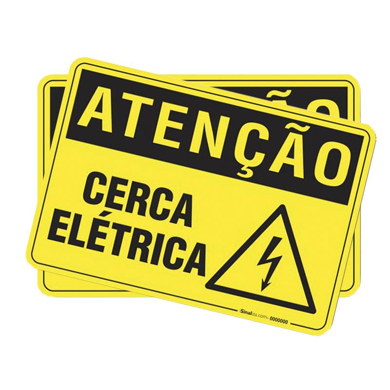 Kit Cerca Elétrica Residencial 01 Rolo de Fio Alumínio Premium 1,80mm de 500m + 10 Molas de Repuxo (Aço Inox) + 02 Placas de Advertência + 100 Isoladores Castanha + 100 Isoladores W