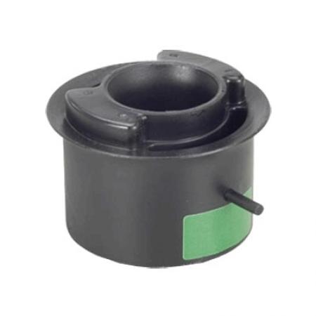 Coxim (com pino) traseiro da suspensão do motor (lado volante) motor MWM (ano 97 a 2003) (tarja verde) tubo interno comp. 66 mm