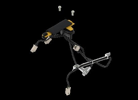 Kit de conexão com peças de conexão, parafusos com cabeça rebaixada para AMT