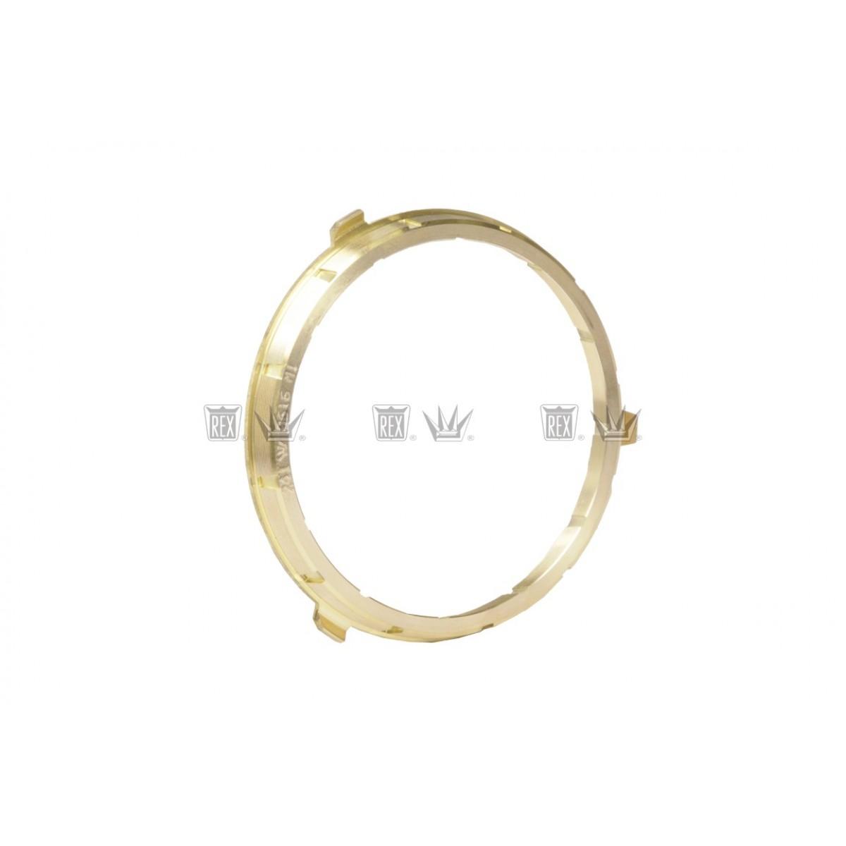 Anel sincronizador 1/2ª bronze caixa cambio Eaton
