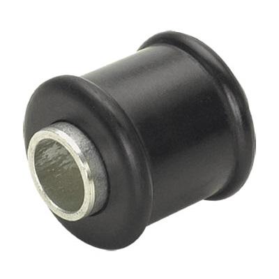 Bucha com tubo superior e inferior do olhal amortecedor do eixo da suspensão traseira dimensões: ext. 30mm x int. 14,2mm x comp. 38mm