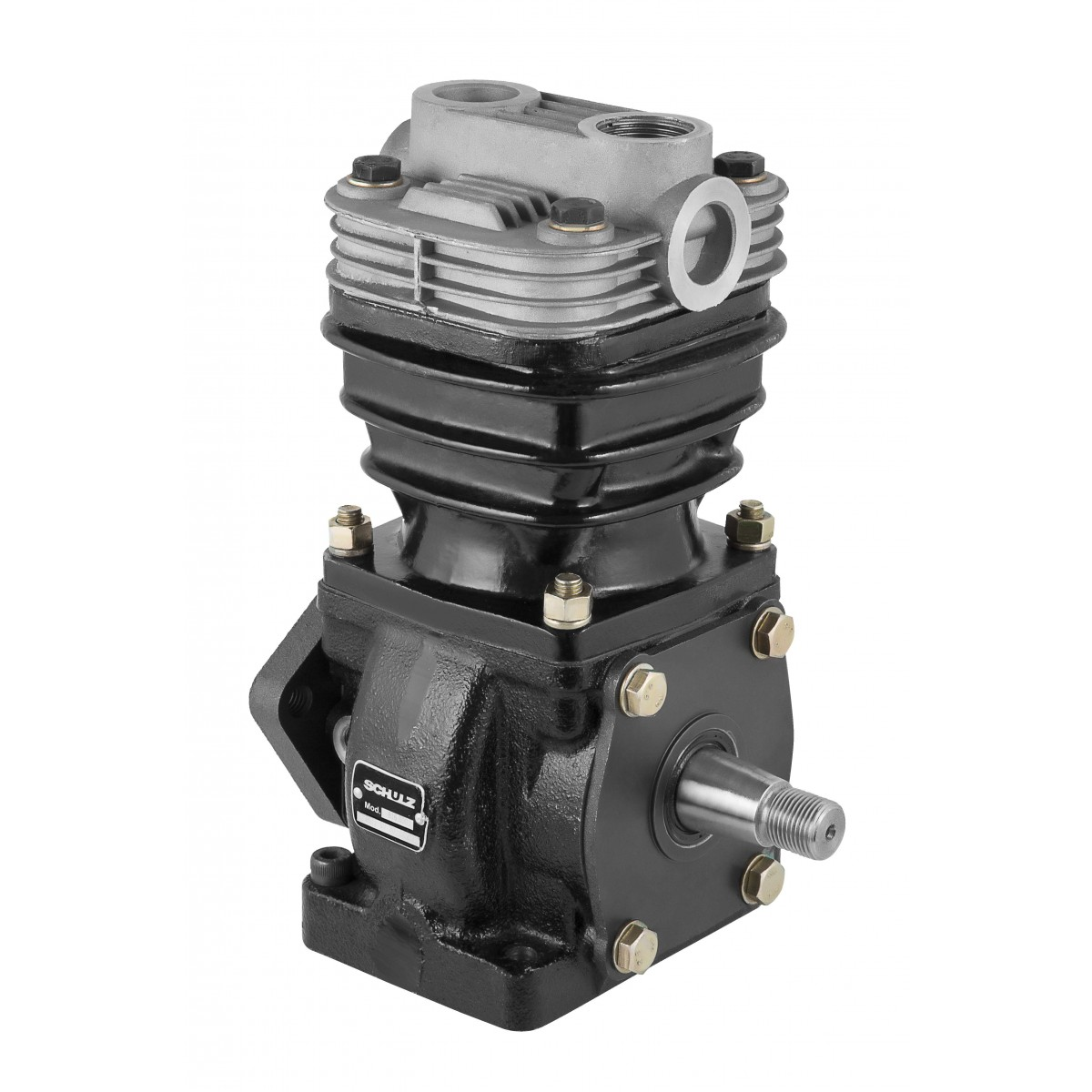 Compressor de ar monocilindro OM366 Mercedes Benz / Volkswagem
