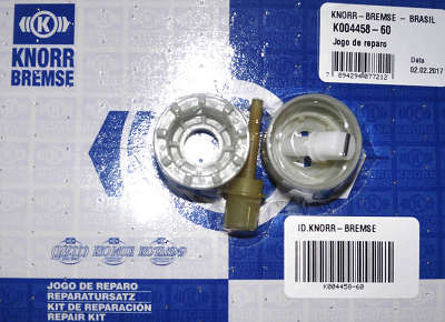 Jogo de reparo valvula freio mao knorr Scania / Mercedes Benz
