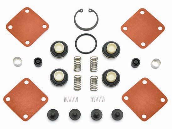 Jogo de reparo válvula proteção 4 circuitos (com retenção)