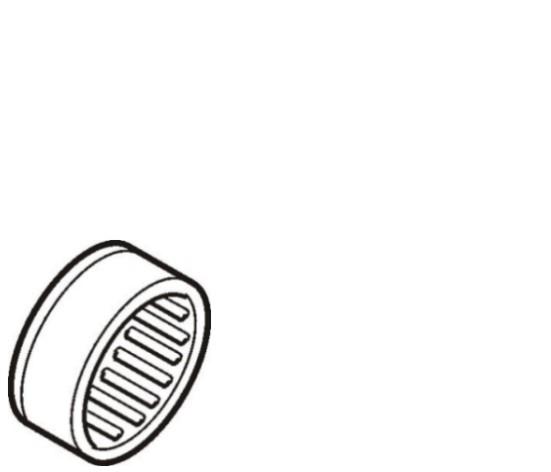 Rolamento de agulhas caixa cambio Mercedes Benz G210