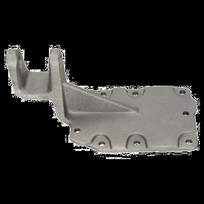 Tampa guia trambulador e inspeção e vedação da caixa de câmbio e suporte do varão da alavanca do câmbio ZF 16S/1650.