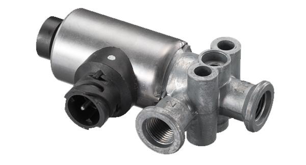 Valvula solenoide freio motor 24v Mercedes Benz  atego Axor o500 OF1417 1418