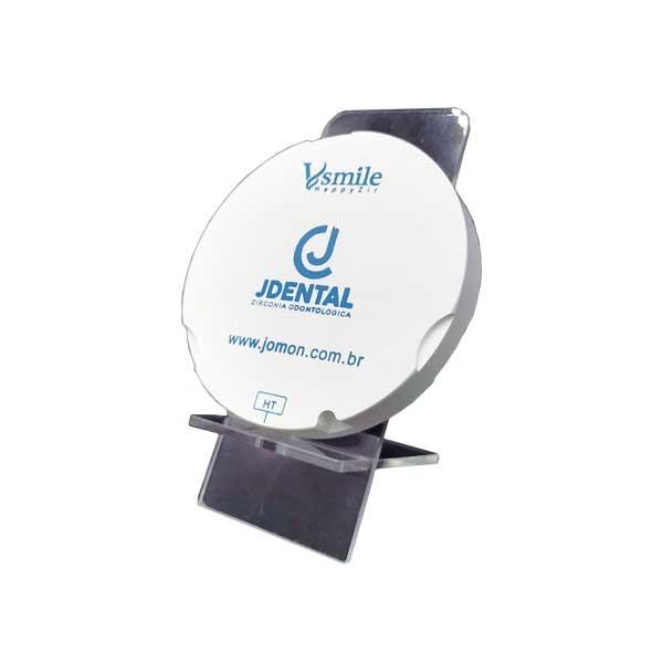 Bloco de Zirconia Zirkonzahn Ultra Translucidez (UTML) Multilayer