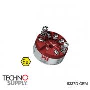 Transmissor 2 fios com protocolo HART PR Electronics 5337D