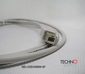 Cabo Usb 2.0 Bb-usbambm-6f  B&b