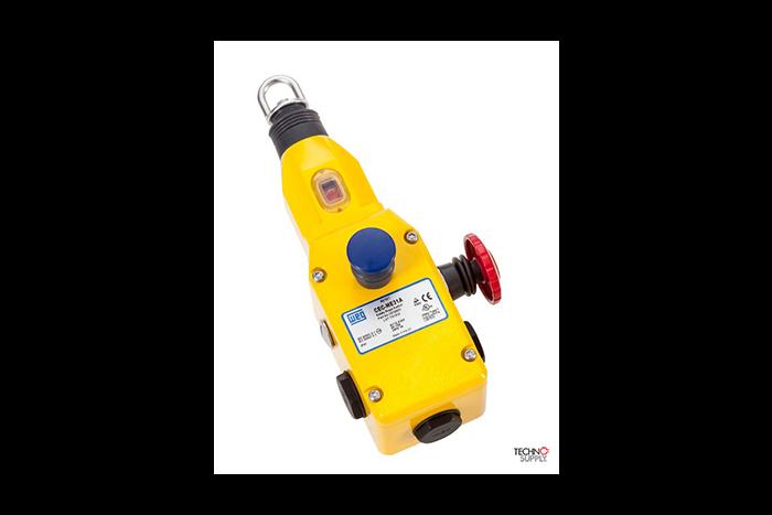 Chave de emergência de segurança acionada por cabo WEG CEC-ME31A 12532825