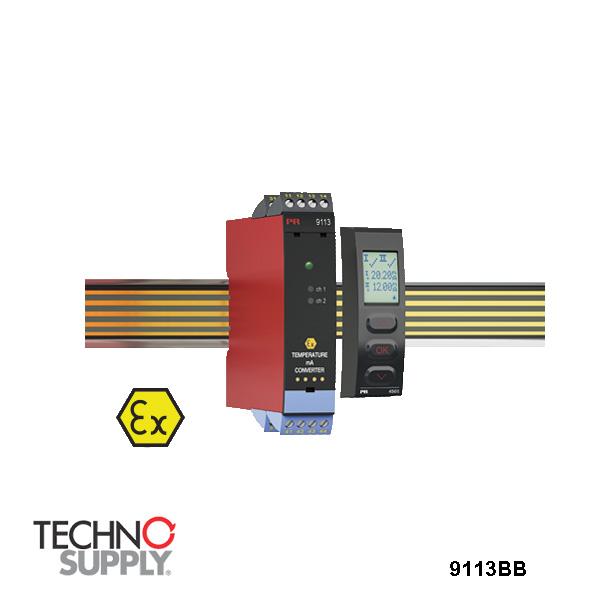 Conversor de temperatura/mA PR Electronics 9113BB