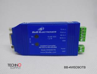 Coversor Serial Rs-232 Db9 F To Rs-422/485 Bb-4wsd9otb B&b