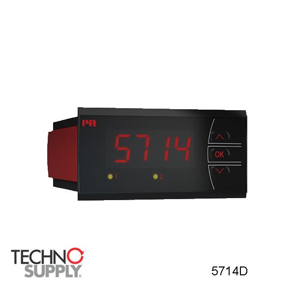 Indicador LED programável PR Electronics 5714D