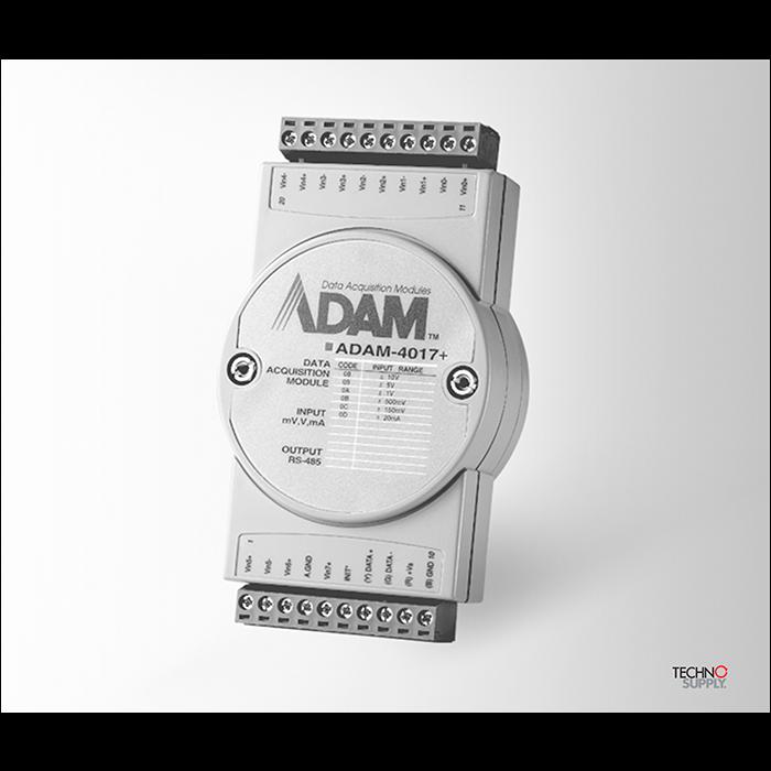 Módulo I/o Analógico 8 Canais Modbus Adam-4017