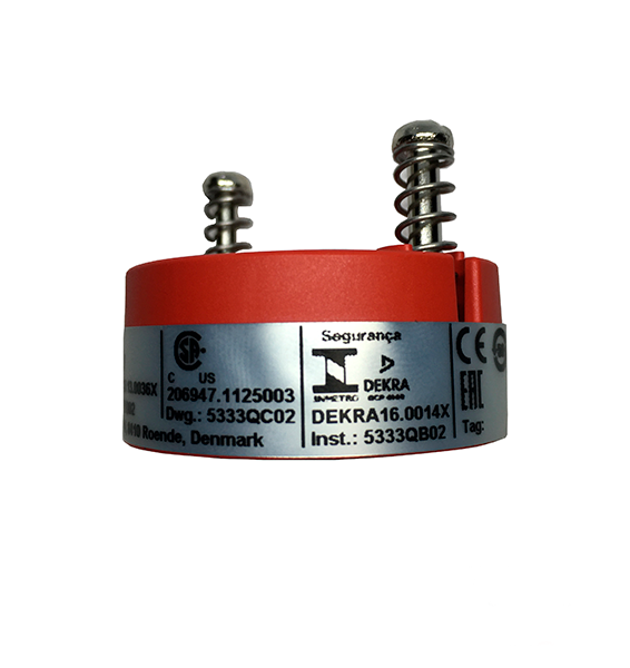 Transmissor de Temperatura Industrial Programável PR Electronics 5333A PT100